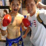森 貴慎さん 1round KO勝ち